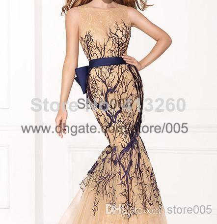Wholesale-2015-Tarik-Ediz-Amazing-Embroidery-Lace-Long-Mermaid-Prom-Evening-Dresses-Gowns-Women-Sash.jpg (442×455)
