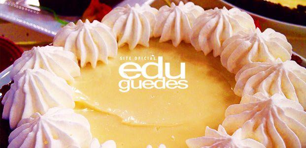 Torta mousse de limão | Receitas Edu Guedes – Site Oficial