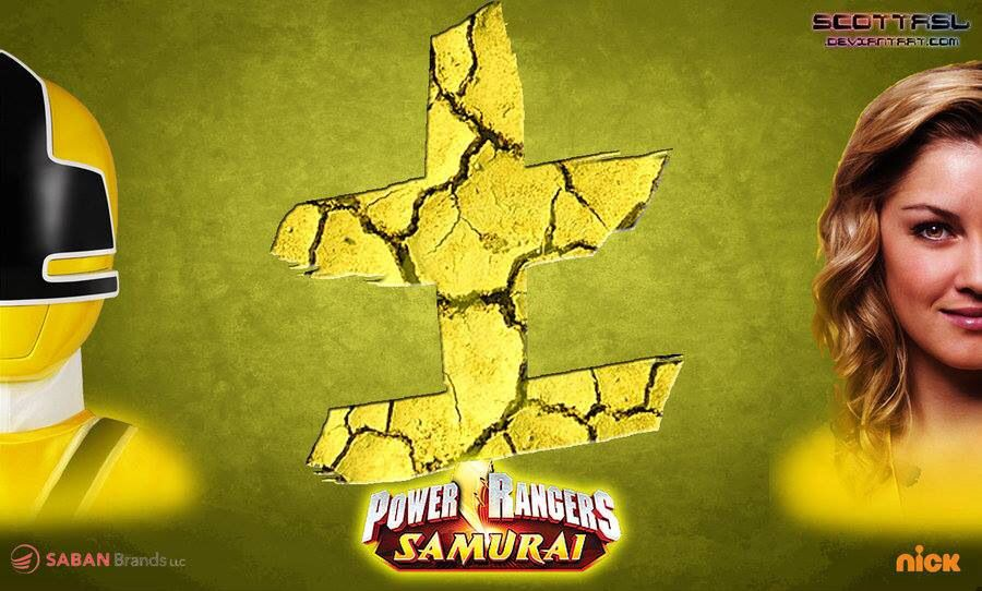 Yellow Power Symbol Power Rangers Samurai Pinterest Power