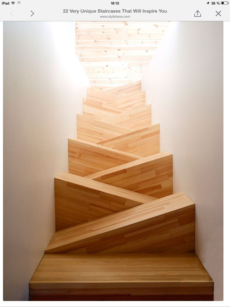 Triangle staircase | Archi cool stairs | Pinterest ...