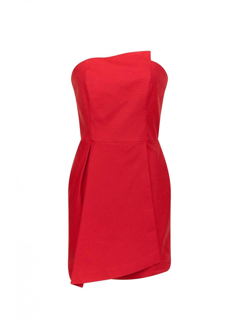 Robe de soiree rouge naf naf