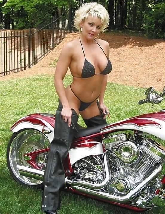 girls boobs big Motorcycle with