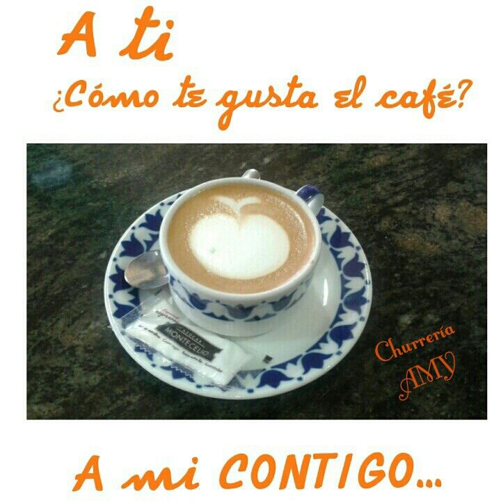 Un café en buena compañía SIEMPRE.