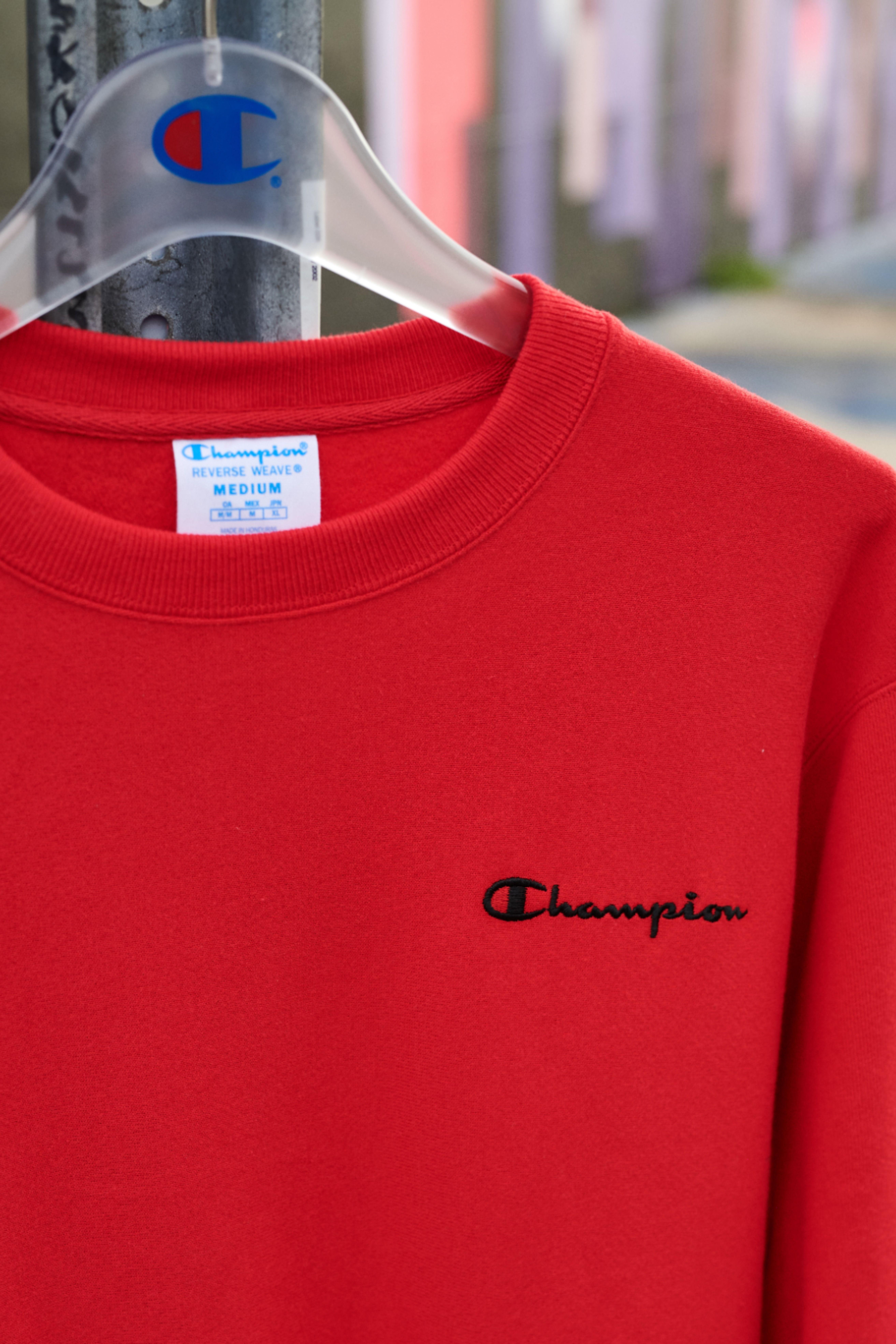 Men S Champion Life Reverse Weave Crew Vintage Logo Vintage Logo Vintage Hoodies Cute Comfy Outfits [ 7879 x 5253 Pixel ]