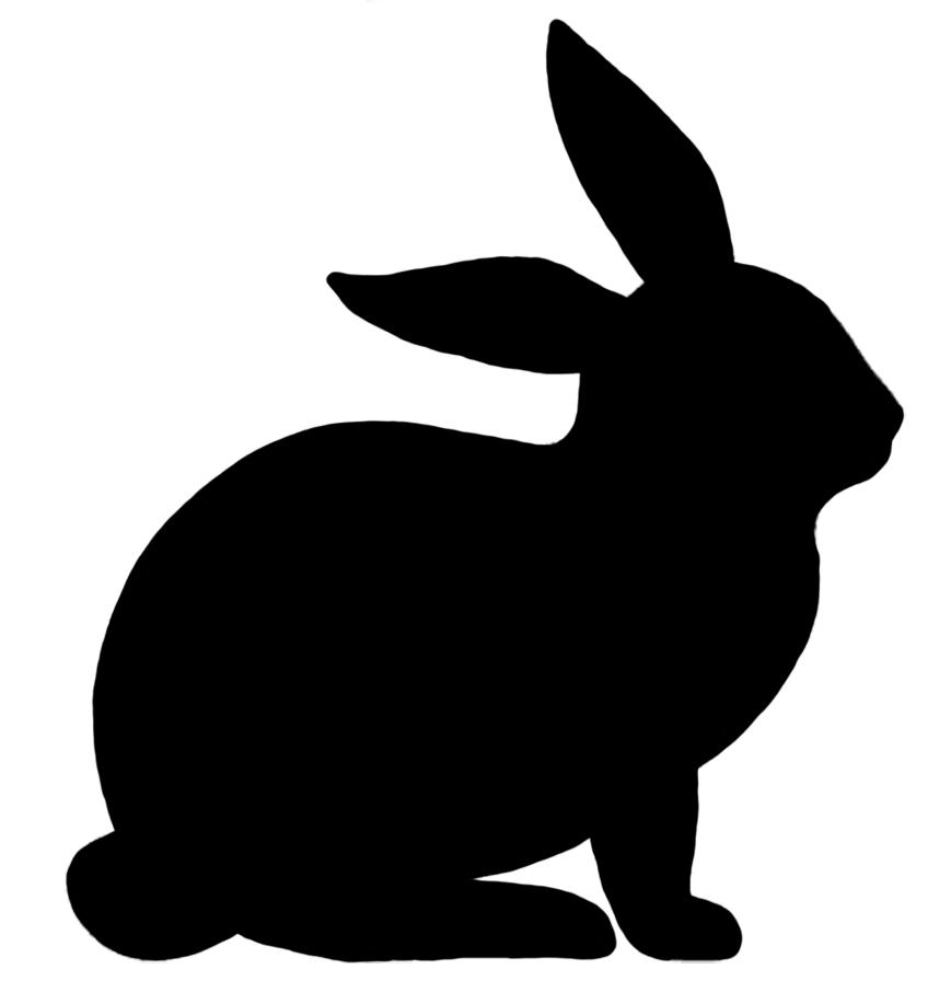 Rabbit silhouette google search bunny gifts for rabbit lovers rabbit silhouette google search voltagebd Images
