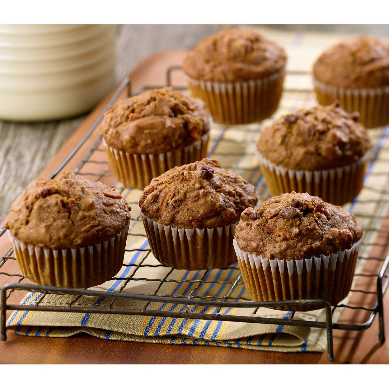 Muffins Classiques Au Son Et Aux Carottes Recipe Bran Muffins Carrot Muffin Recipe Bran Muffin Recipes