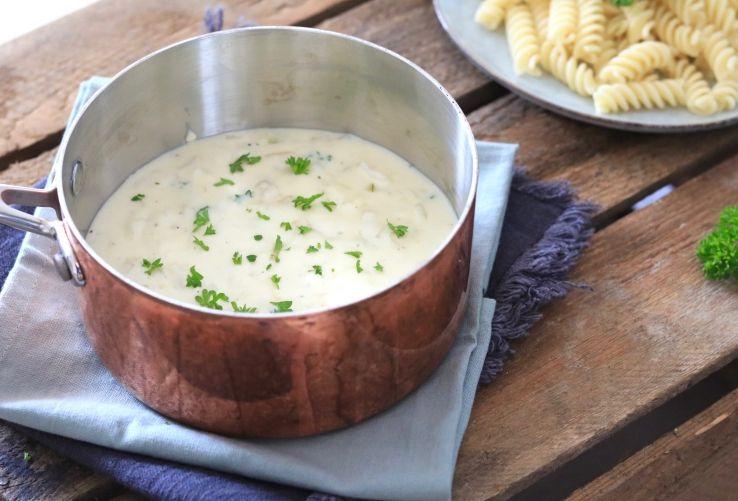 Welp Witte pastasaus – ZELF MAKEN   Recept (met afbeeldingen)   Voedsel ZC-88