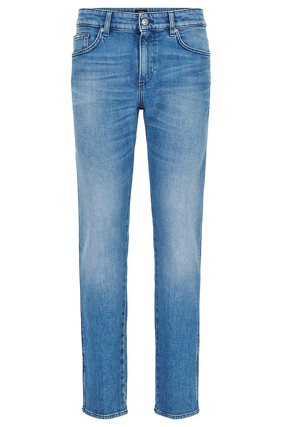 hugo boss stretch jeans mens
