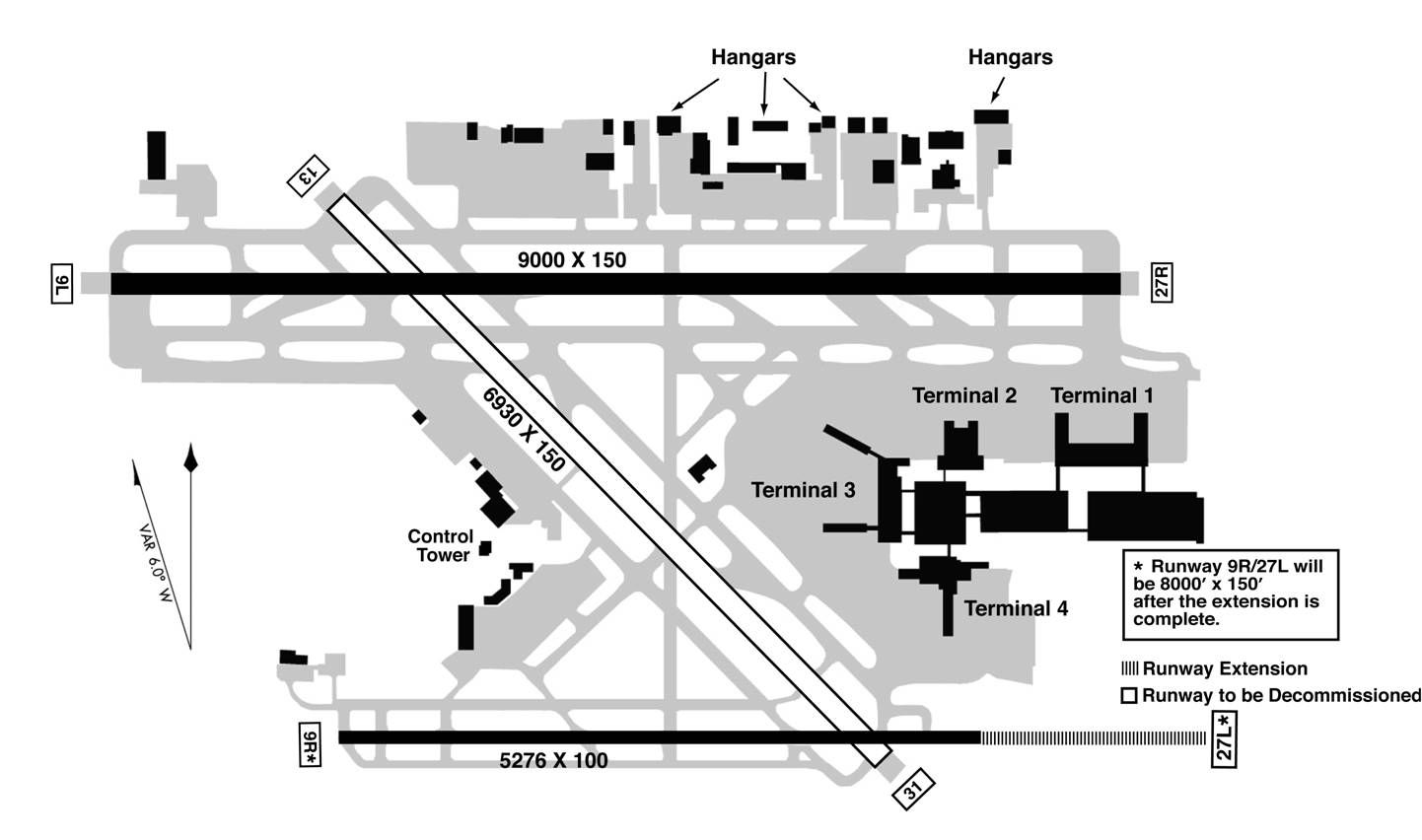 Fort Lauderdale Hollywood International Airport Map