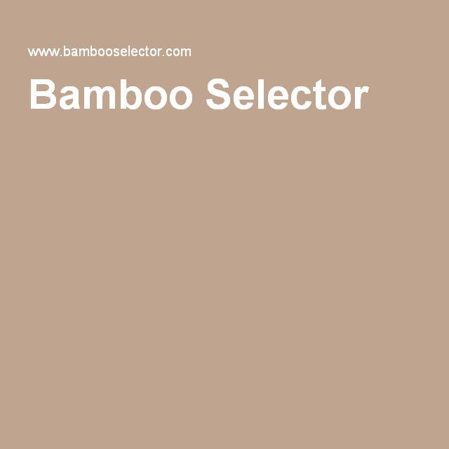Bamboo Selector