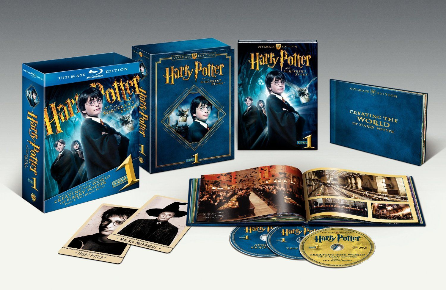 Harry Potter And The Sorcerer S Stone Blu Ray Ultimate Edition