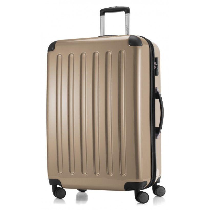 alex koffer hartschale champagner gl nzend 75 cm 119 liter luggage sets buy luggage. Black Bedroom Furniture Sets. Home Design Ideas