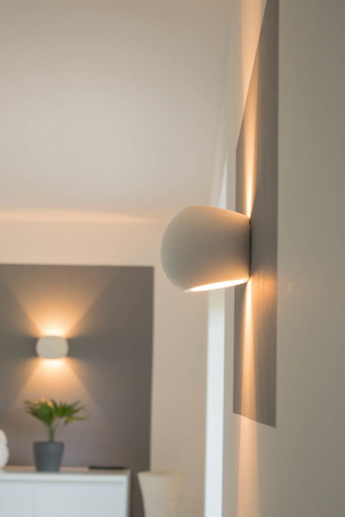 Dimmbare LED Wandlampen  Unsere Wandleuchten frs Wohnzimmer  Hausbau  Neubau Einfamilienhaus