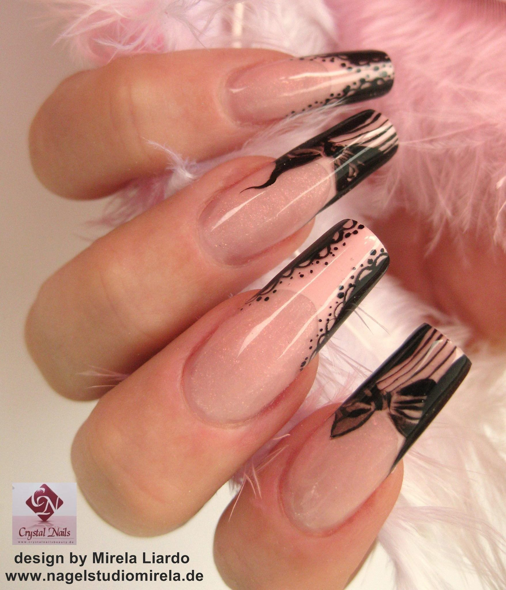 Nageldesign Spitze Ngel. Best Nageldesign With Nageldesign Spitze ...