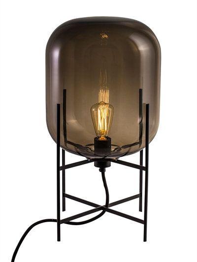 Pulpo Oda Small Table Light Grey Black Small Table Lamp Lamp Small Table Lighting