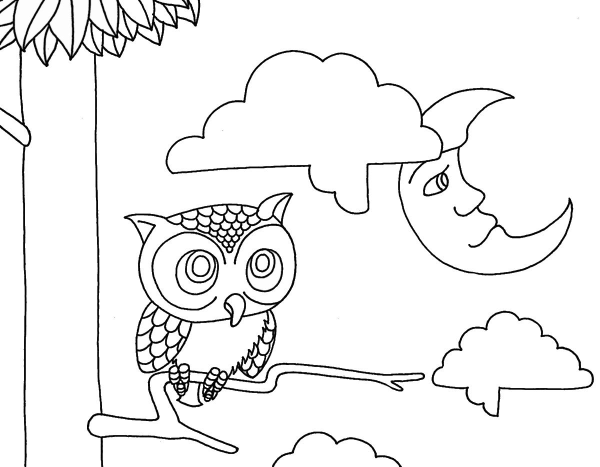 Rejects wenchkins saturday morning coloring page night owl