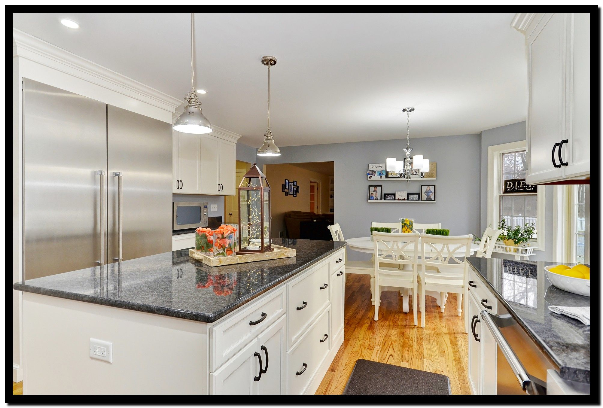 A kitchen remodel in Rolling Meadows, Illinois was ...