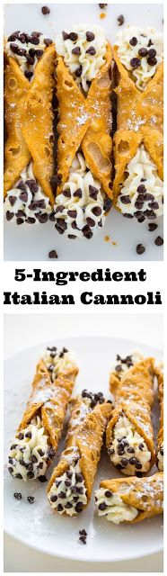 5-Ingredient Cannolis Recipe #enklaefterrätter