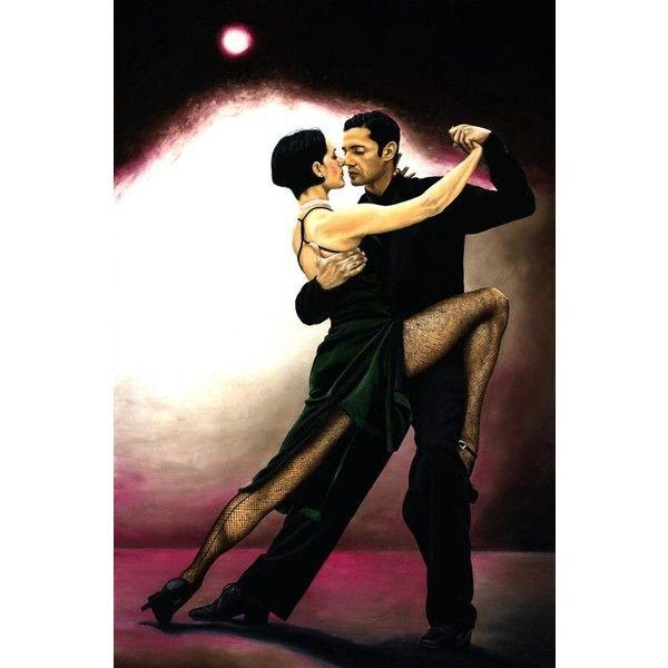 The Temptation Of Tango Dancing Fine Art Argentine Latin Dance Oil Liked On Polyvore Featuring Backgrounds Dance Tango Ba Flamenco Dancers Tango Dancers
