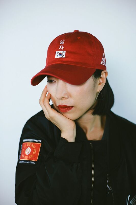 e339aef19d6 KORE X GACHI SALJA (LET S LIVE) dad hat in collaboration with Lia Kim from  1 Million Dance Studio.