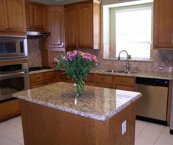 Backsplash Compliment For Venetian Ice Granite | New Venetian Gold Granite  Backsplash Ideas | New Venetian