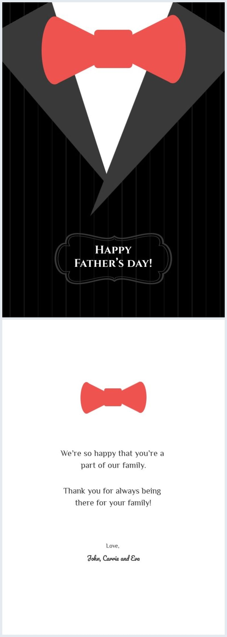 Classic Father S Day Tie Card Design Fathersday Card Card Templates Printable Fathers Day Cards