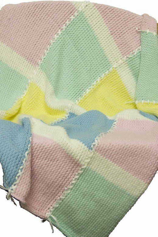 7 Loom Knit Blanket Patterns Designed Specifically For The Knifty