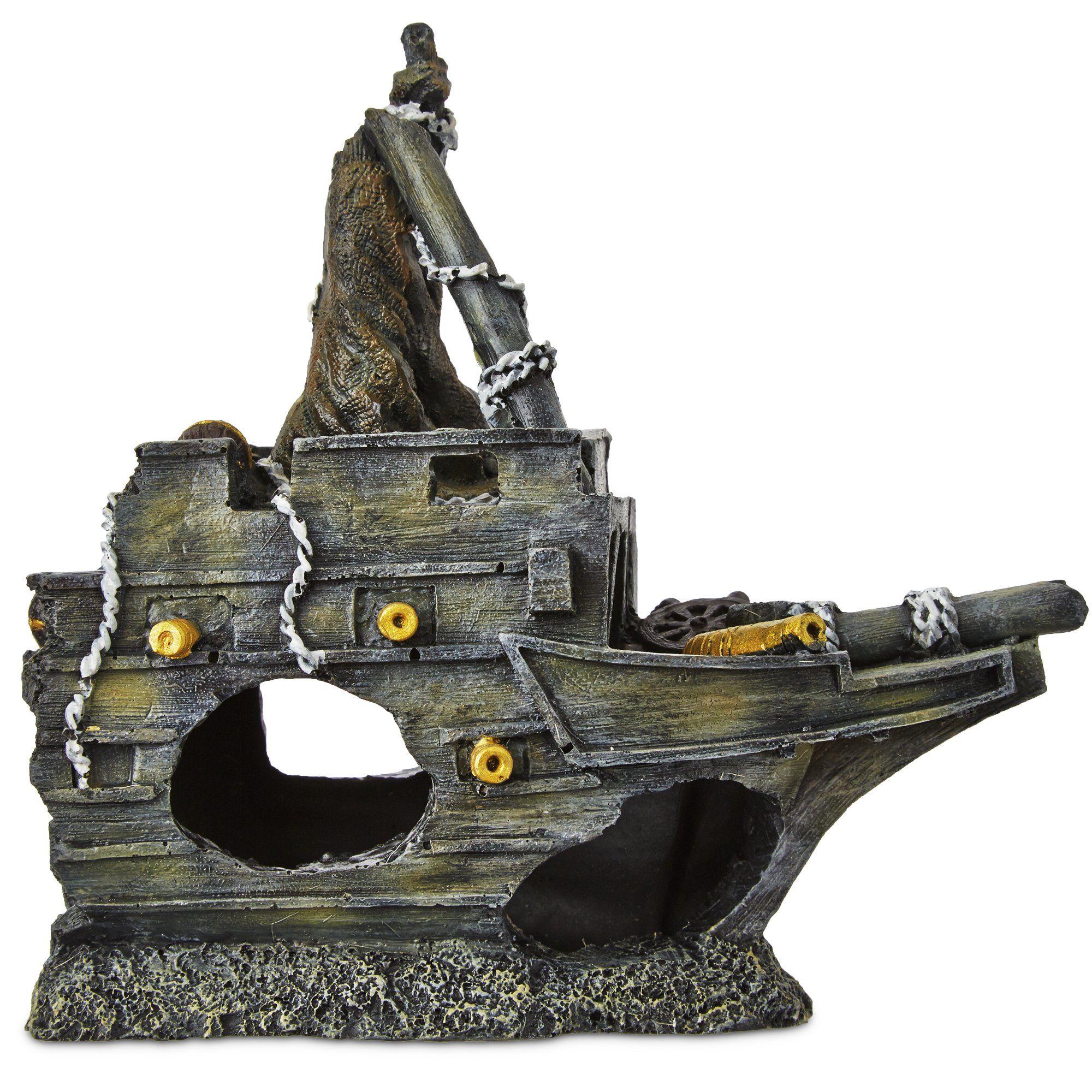 Imagitarium Front Shipwreck Ornament