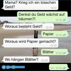 Lustige WhatsApp Bilder und Chat Fails 73  Geld meme for husband Die lustigsten Top 10 WhatsApp Bilder und Chat Fails