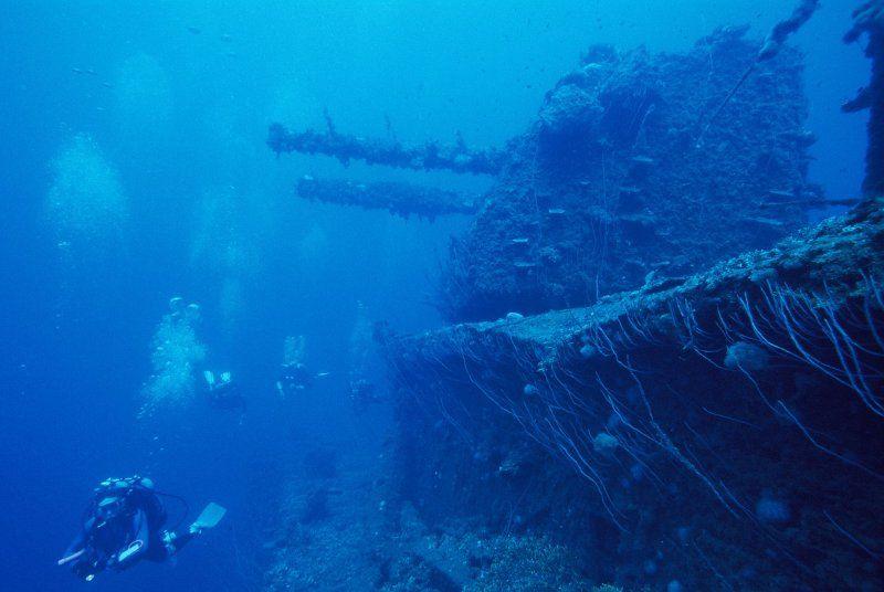 Diving bikini atol