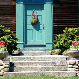 In landscaping for front door entrances, you are trying to achieve several objectives. For instance, you want to: