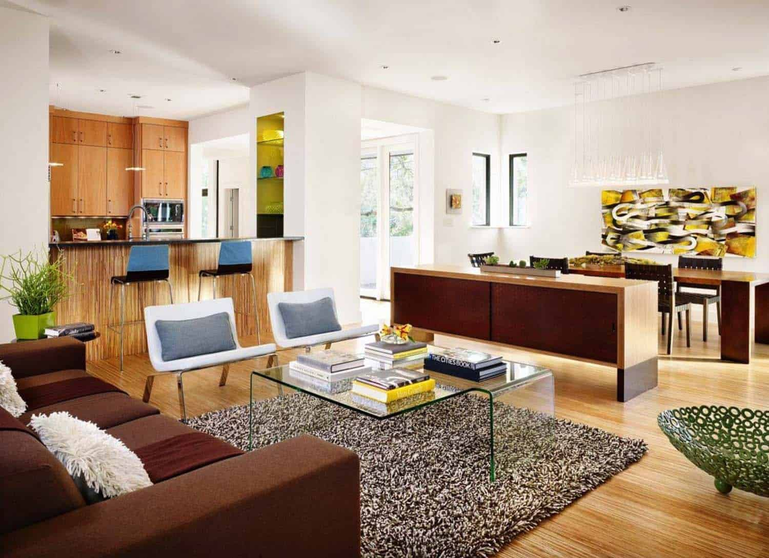 see inside an austin home with modern yet ultrainviting
