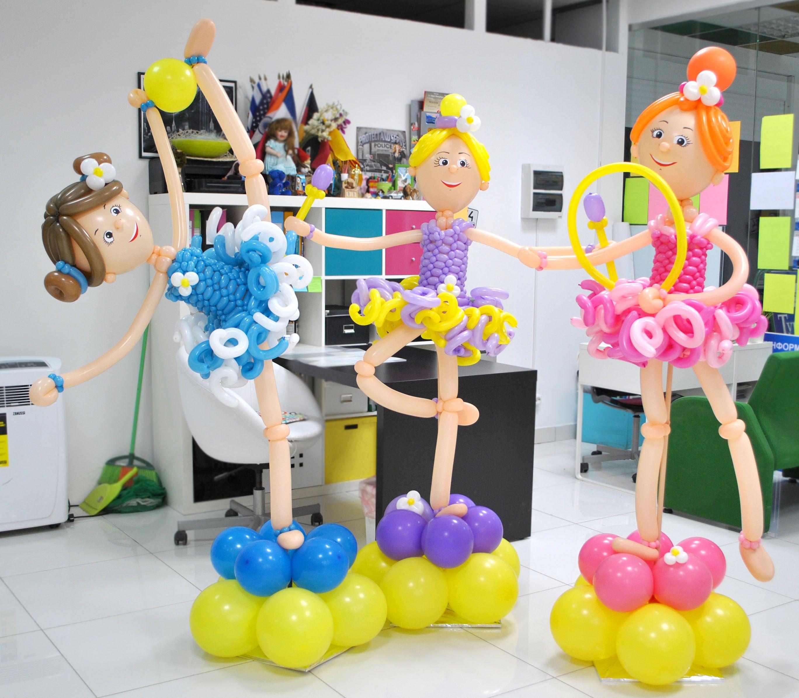 Bailarinas Bailarinas globos Pinterest