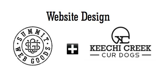 Keechi Creek Cur Dogs Summit Web Goods Website Lauch Retail Logos Website Design Creek