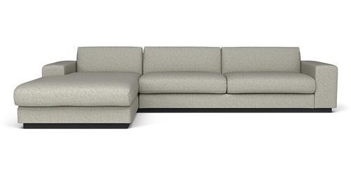 sofa fra bolia, Sepia 3 pers. sofa m. Sjeselong. Mind