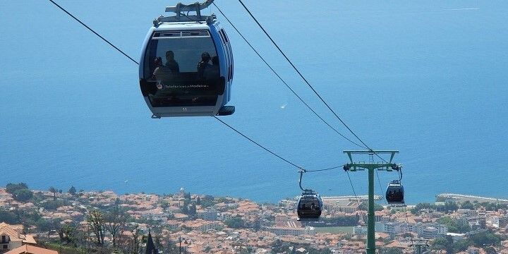 Cable Car, Funchal, Madeira, Portugal