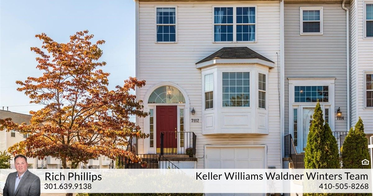 Rich Phillips of Keller Williams Realty Centre just listed