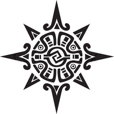 blackfoot indian warrior symbol aztec symbols for power symbol of a sun or star 39 for my foot. Black Bedroom Furniture Sets. Home Design Ideas