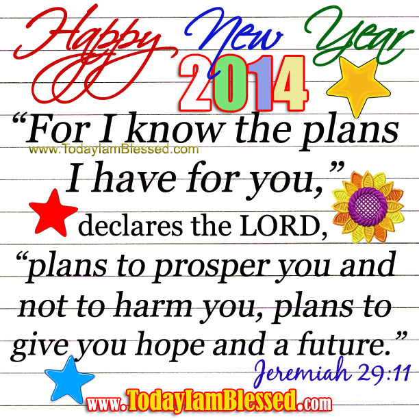 JEREMIAH 29:11 \
