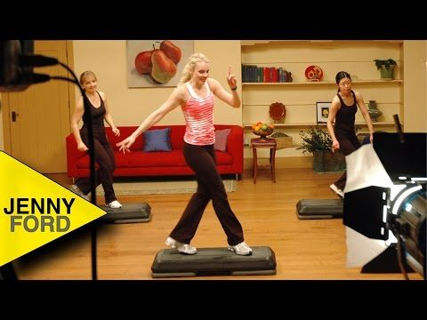 Spicy Step Step Aerobics Advanced Jenny Ford Youtube