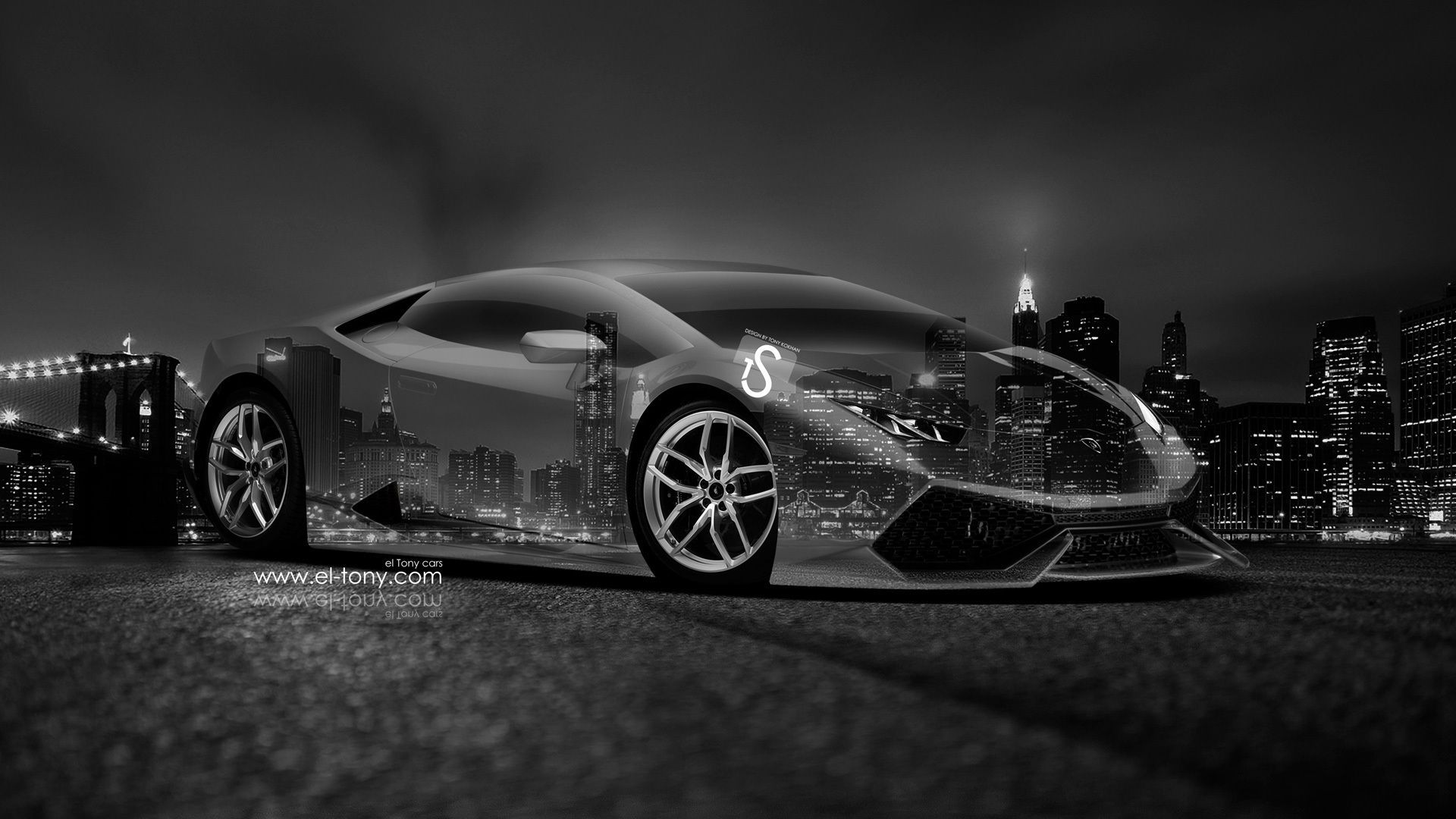 Superieur Lamborghini Gallardo Back Abstract Car Design By Tony Kokhan Wallpapers) U2013  HD Desktop Wallpapers