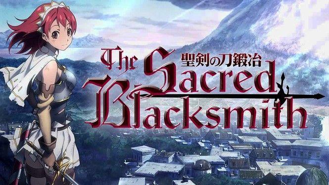 The Sacred Blacksmith Seiken No Blacksmith 2009 Tv Ma 12