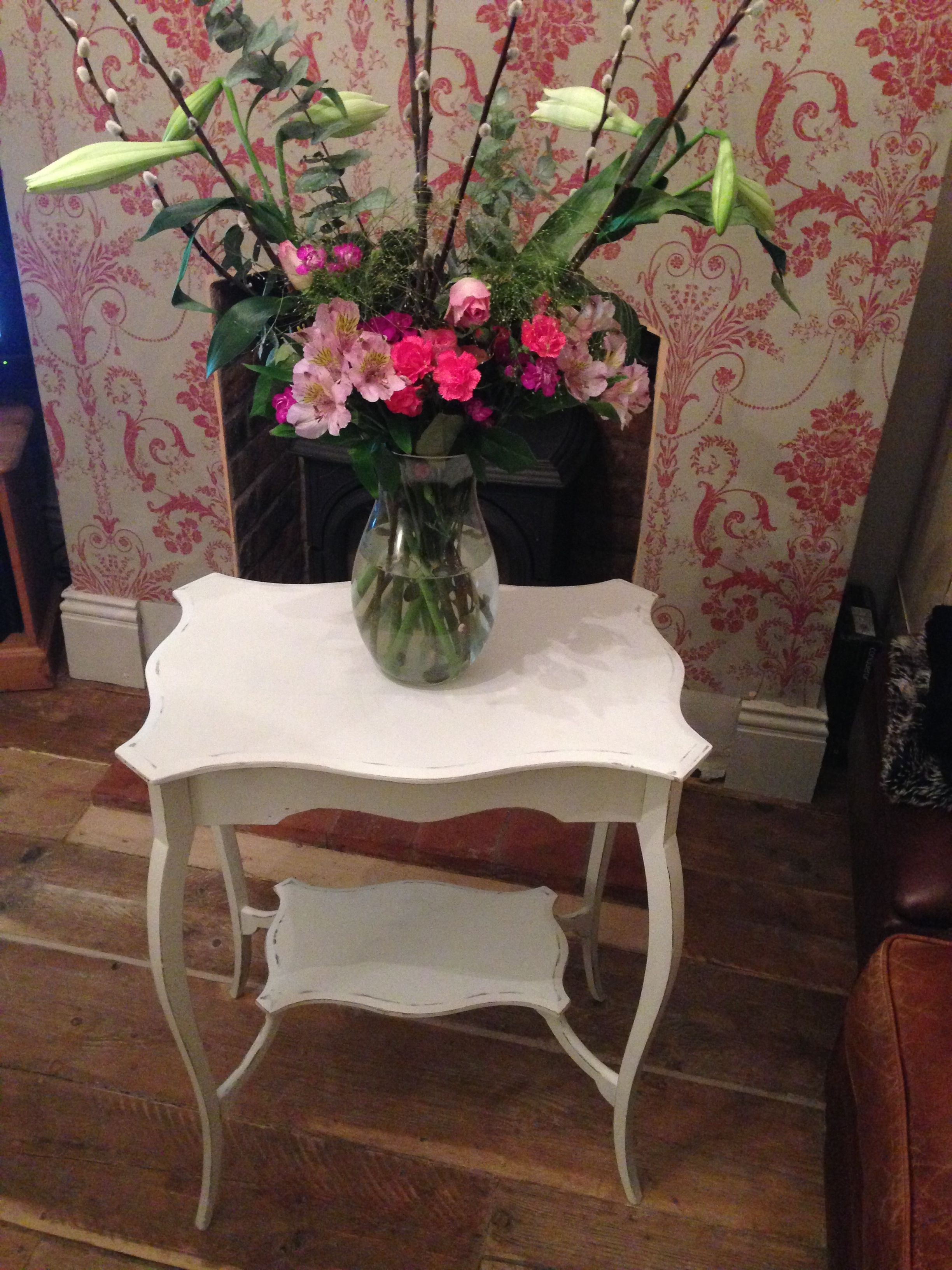 I purchased this table from a car boot sale then transformed it ...