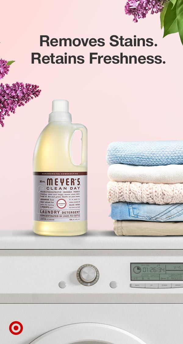 Choose A Fresh Floral Scented Laundry Detergent That Effectively Removes Dirt While Bein In 2020 Scented Laundry Detergent Meyers Cleaning Products Laundry