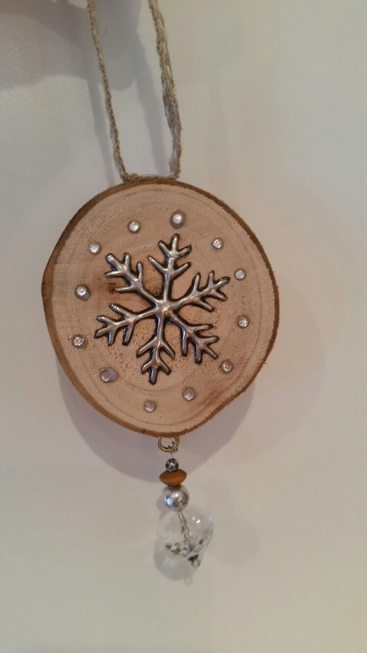 Rustic Christmas bauble