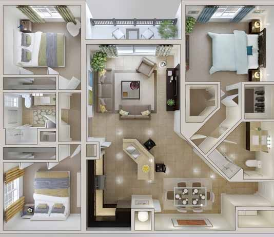 25 Feet By 40 Feet House Plans 3d House Plans House Plans Bedroom House Plans