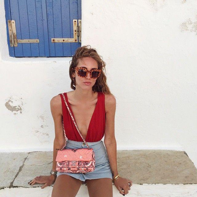 Chiara Ferragni in the Viola Bodysuit. https://www.thereformation.com/products/viola-bodysuit-rouge?utm_source=pinterest&utm_medium=organic&utm_campaign=PinterestOwnedPins