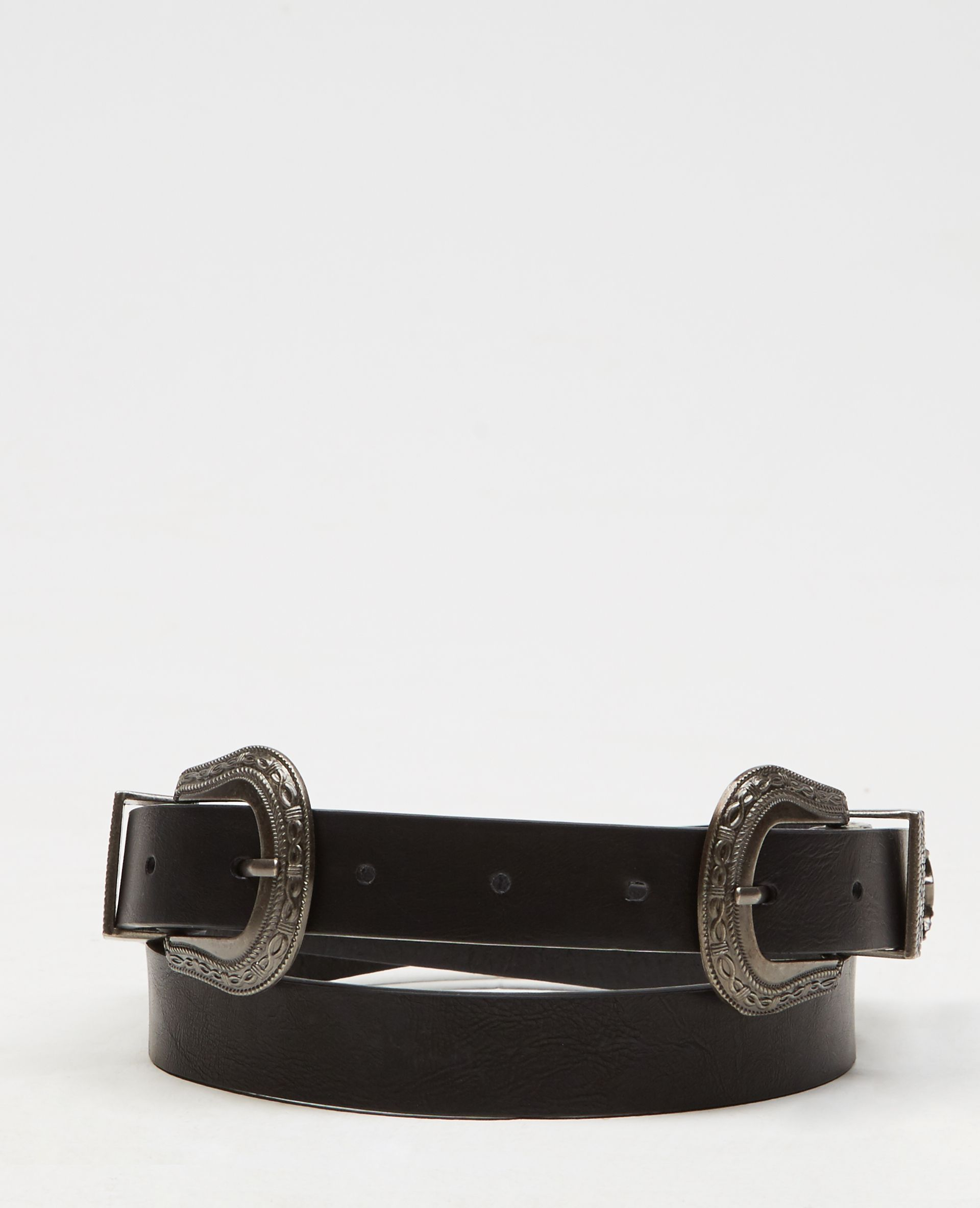 c352183ed3d Ceinture double boucle - Coup de cœur pour la ceinture western à double  boucle