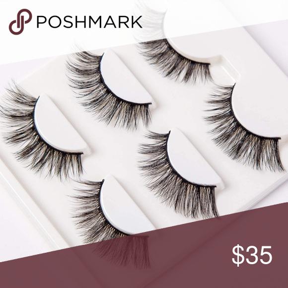 3D Wispy faux mink lashes K-03 | Luxurymink Eyelashes
