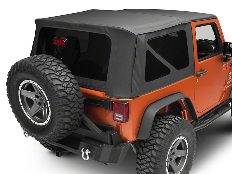 Redrock 4x4 Cargo Wrap Around Net One Piece 92 06 Jeep Wrangler